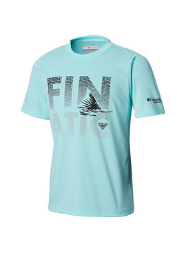 Columbia Sportwear Boys' PFG™ Finatic Short Sleeve Shirt