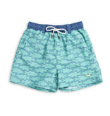 Southern Marsh YOUTH DOCKSIDE SWIM TRUNK - SCHOOLS OUT