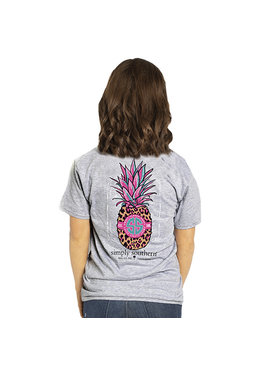 Simply Southern Collection Pineapple Long Sleeve T-Shirt -