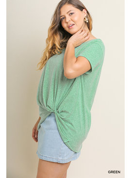 Umgee Basic Short Sleeve Top