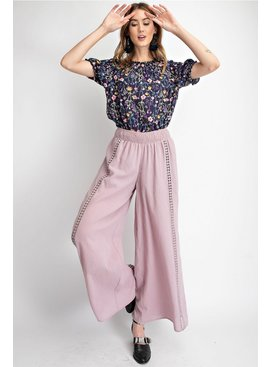 Crochet Wide Leg Pants