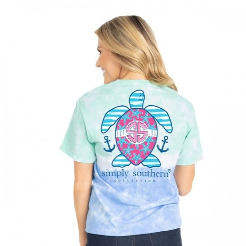 Simply Southern Collection Preppy USA Short Sleeve T-Shirt - Island