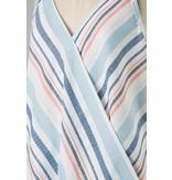 Vine & Love Stripe Woven Top