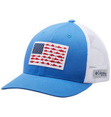 Columbia Sportwear PFG Mesh Snap Back™ Fish Flag Ballcap