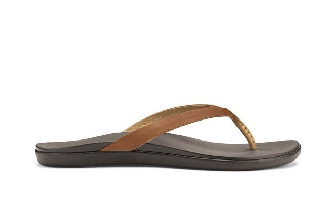 OluKai Ho'ōpio Leather  Women's Beach Sandals