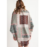 Cotton Voile Cacoon  Cardigan