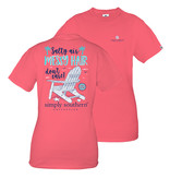 Simply Southern Collection Preppy Palms Short Sleeve T-Shirt Icepop
