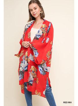 Umgee Open Front Long Kimono
