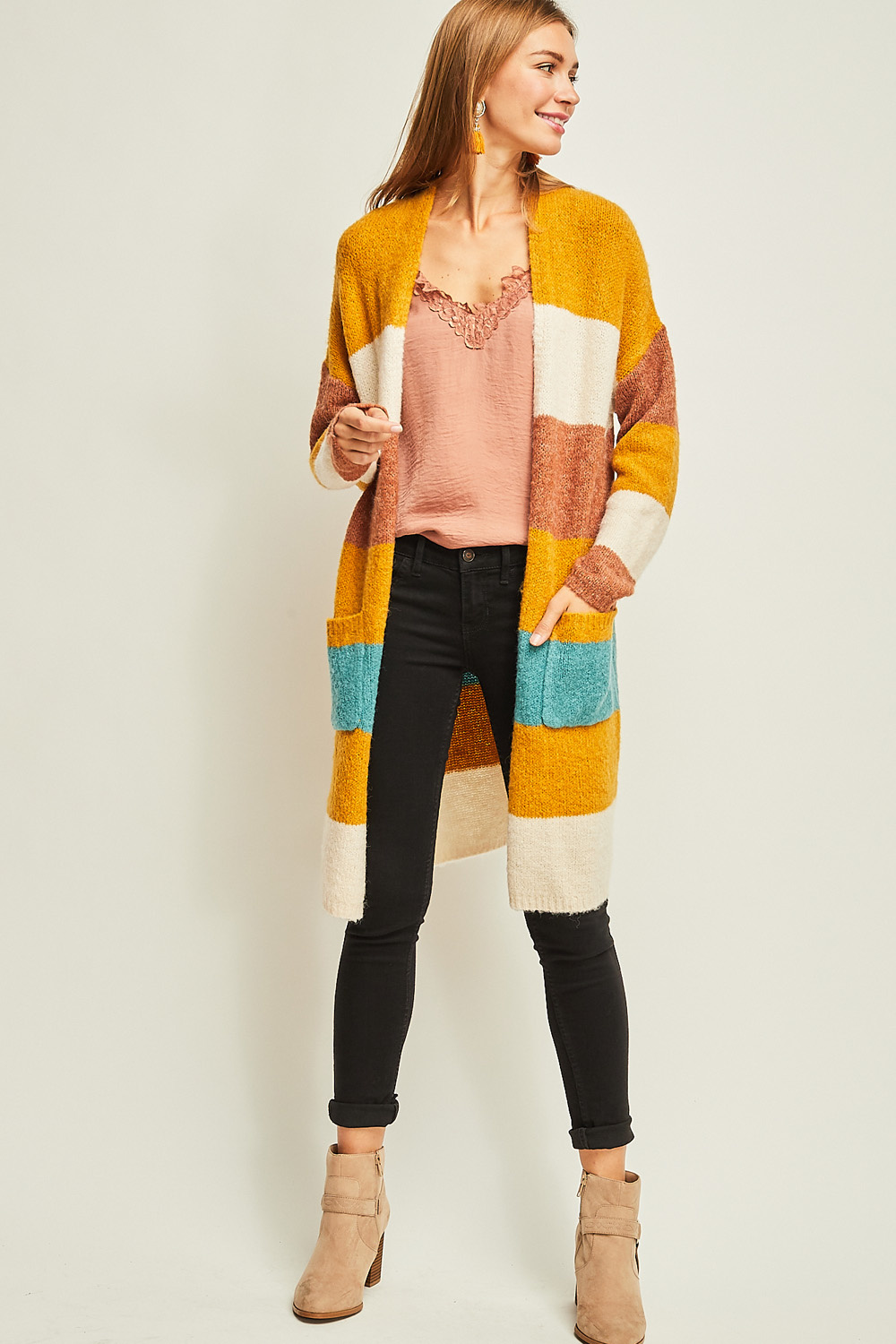 Entro Inc Sweater Cardigan