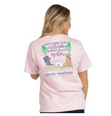 Simply Southern Collection PREPPY TIDE SHORT SLEEVE T-SHIRT
