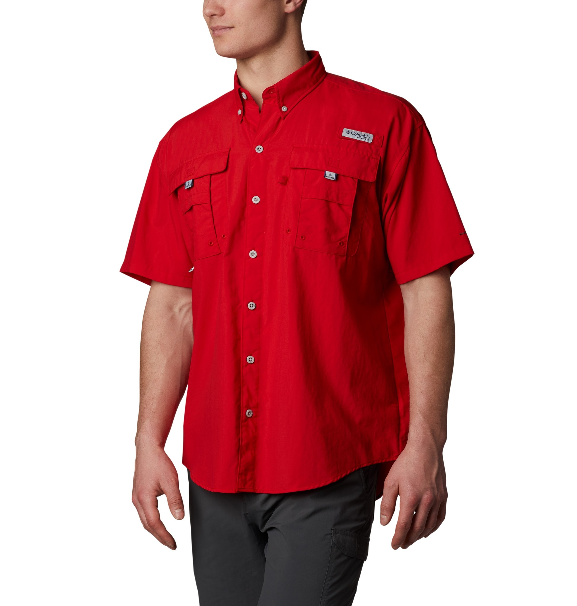 Columbia Sportswear Mens Big-Tall Bahama II Short Sleeve Shirt