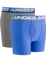 Under Armour Boys' Solid Performance Boxer Briefs