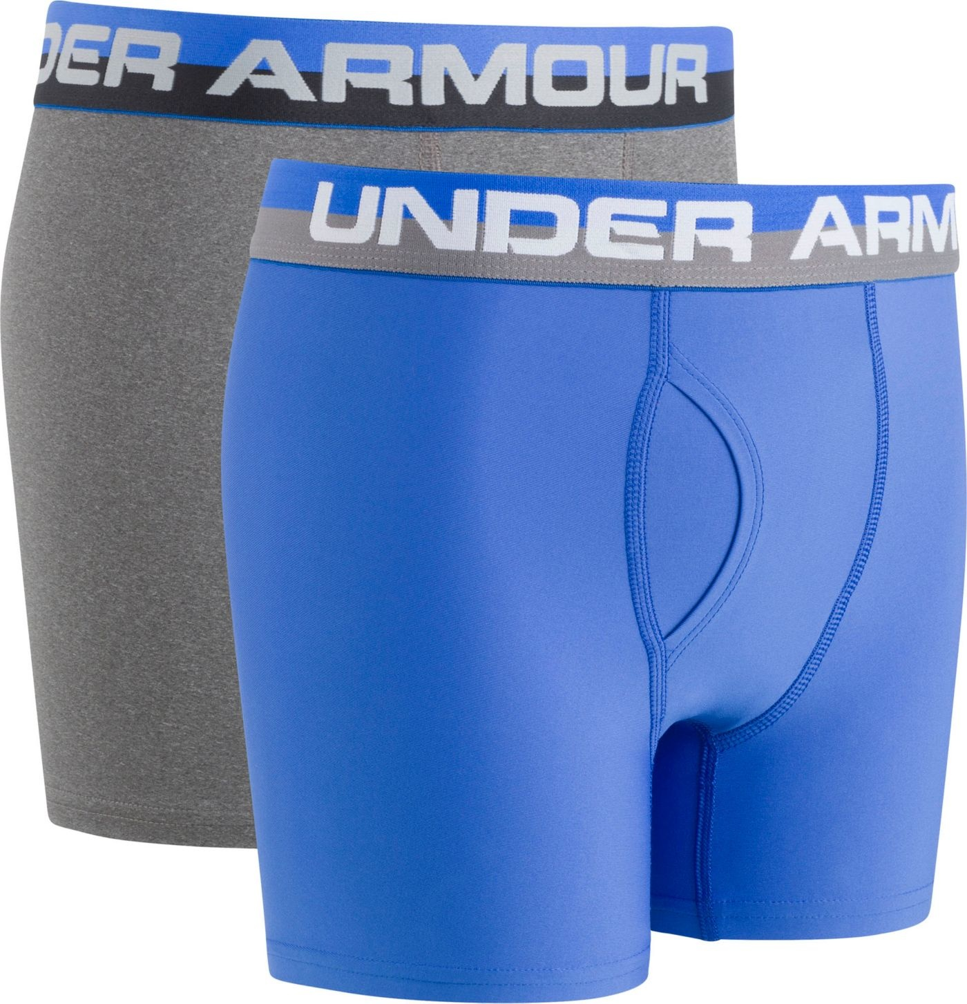Th Pico Estar confundido  Under Armour Boys' Solid Performance Boxer Briefs - King Frog Clothing &  The LilyPad Boutique