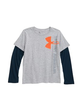 Under Armour Under Armour Vertical Logo Layered T-Shirt