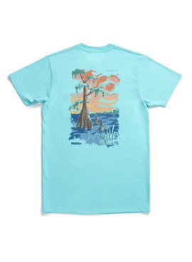 Southern Marsh Southern Horizons Tee - Cypress