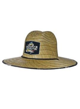 Hook & Tackle Marlin Lifeguard Hat Natural Straw Hat