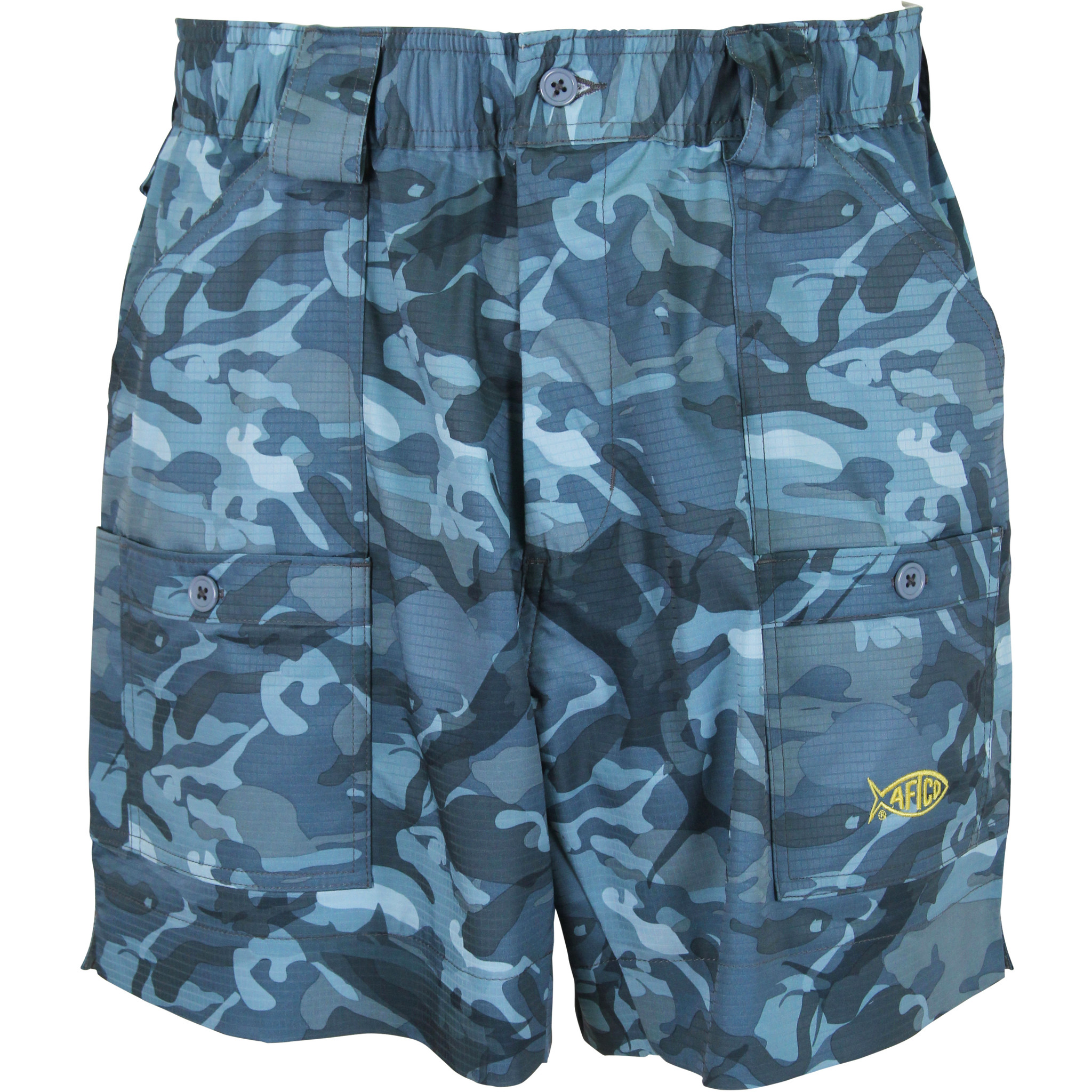 AFTCO Camo Original Fishing Shorts