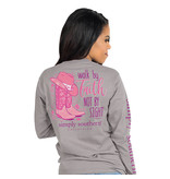 Simply Southern Collection Walk By Faith Long Sleeve T-Shirt