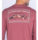 Southern Shirt Mountain Stamp Tee LS