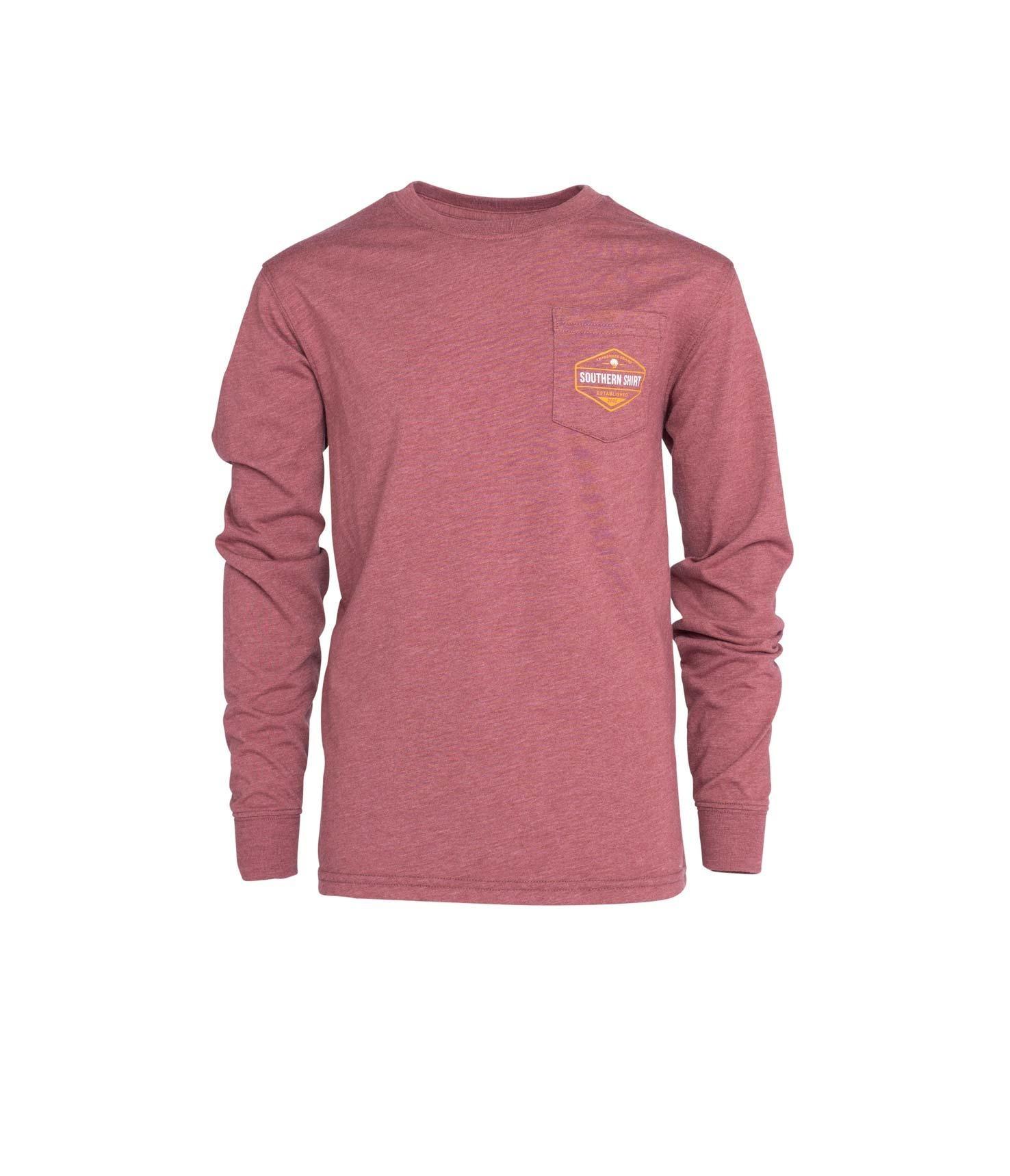 Southern Shirt Boy's Dawn Till Dusk Tee LS