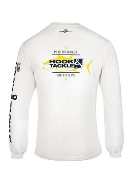 Hook & Tackle Men's Ahi Run L/S UV Fishing T-Shirt