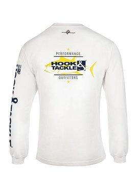 Hook & Tackle Men's Ahi Run L/S UV Fishing T-Shirt