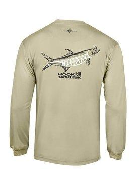 Hook & Tackle Men's Megalops L/S UV Fishing T-Shirt