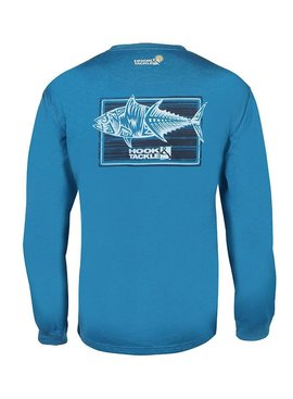 Hook & Tackle Men's Terrible Tuna L/S UV Fishing T-Shirt