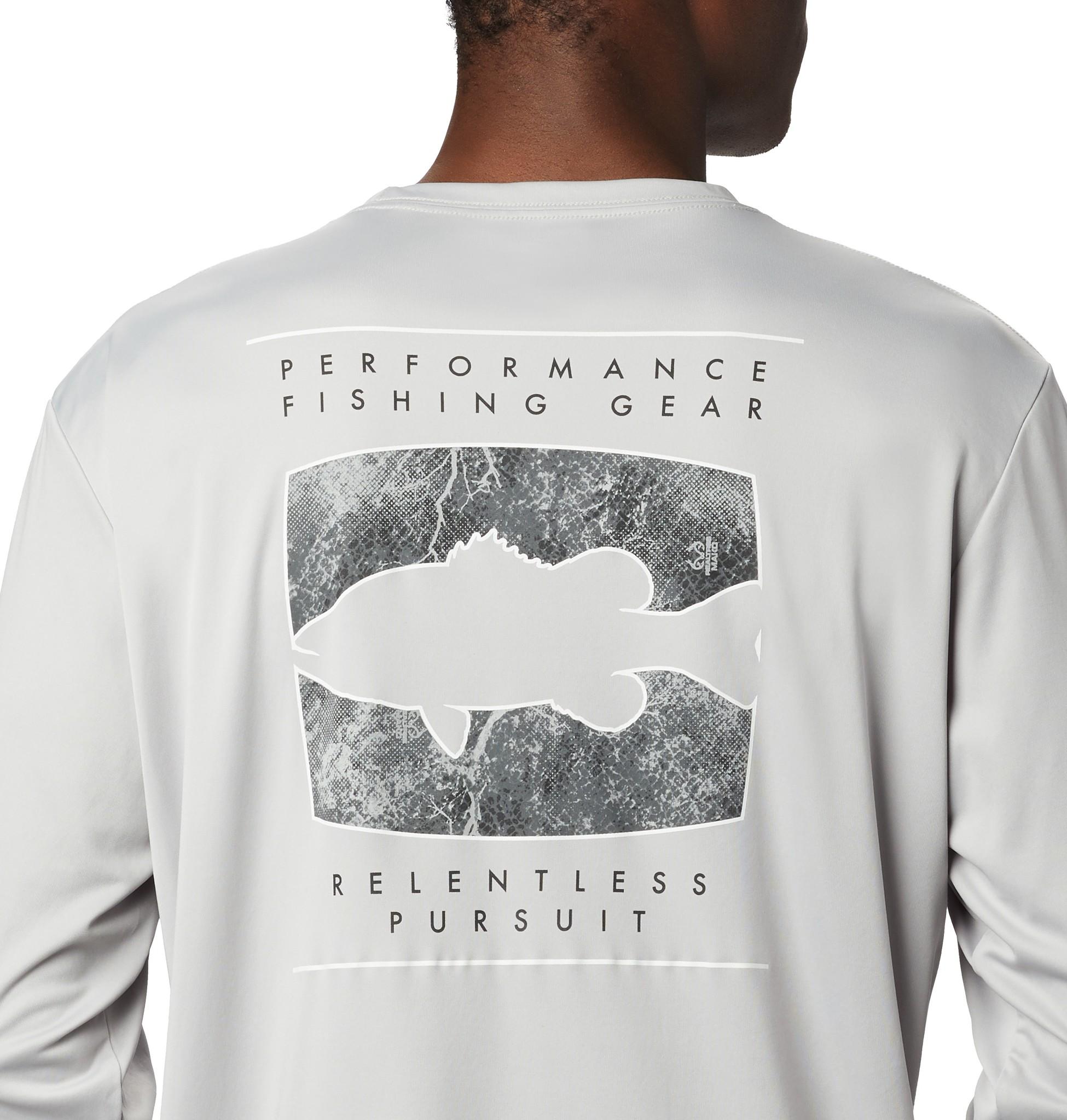 Columbia Sportswear Men's Terminal Tackle Printed Fish™ Long Sleeve Shirt