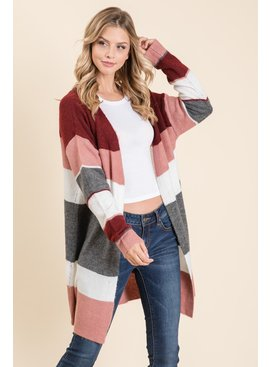 Lumiere Long Sleeve Knit Cardigan
