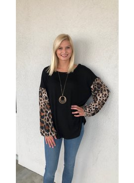 Jodifl Leopard Print Top