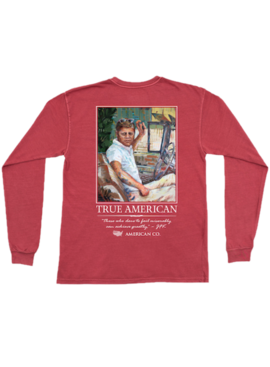 Peach State Pride JFK Long Sleeve Tee