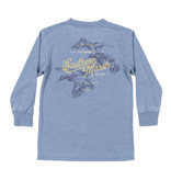 Southern Marsh Youth Seawash Tee - LS - Duck Trio