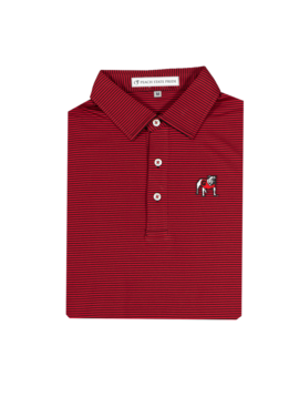 Peach State Pride UGA Standing Dawg Polo