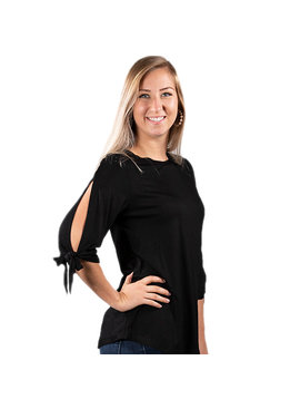 Simply Southern Collection Simply Southern Knot Sleeve Top
