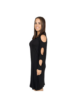 Simply Southern Collection Simply Southern Cold Shoulder Dress