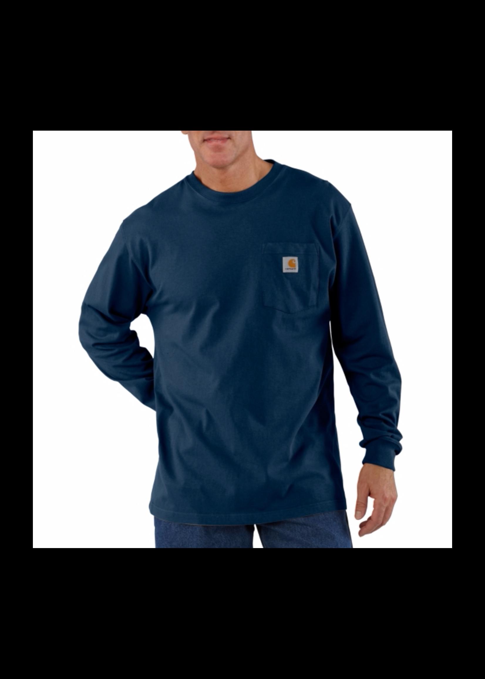 Carhartt Workwear Pkt LS T Shirt - Tall