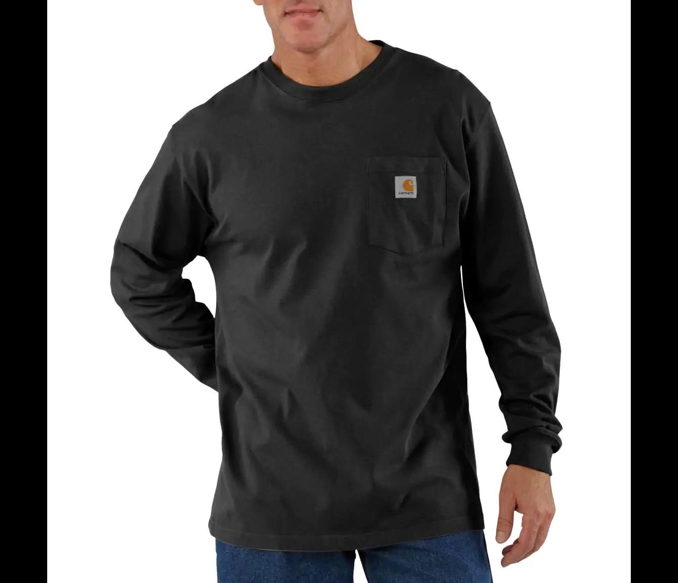 Carhartt Mens Workwear Pocket L//S Tee 3XL//4XL