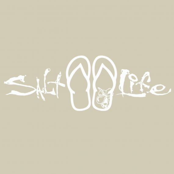 Salt Life Salt Life Signature Sandal Decal