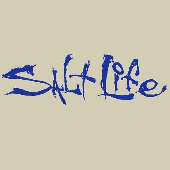 Salt Life Salt Life Signature Medium  Decal