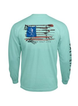 Salt Life Salt Quiver Long Sleeve Pocket Tee