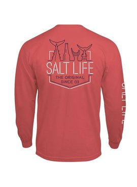 Salt Life Neon Tails Long Sleeve Tee