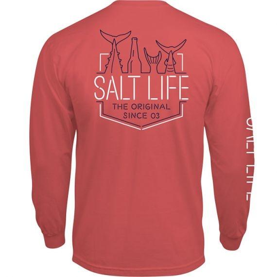Salt Life Neon Tails Long Sleeve Tee