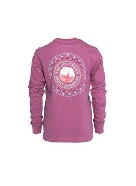 Southern Shirt Girl's Mesa Logo Tee LS