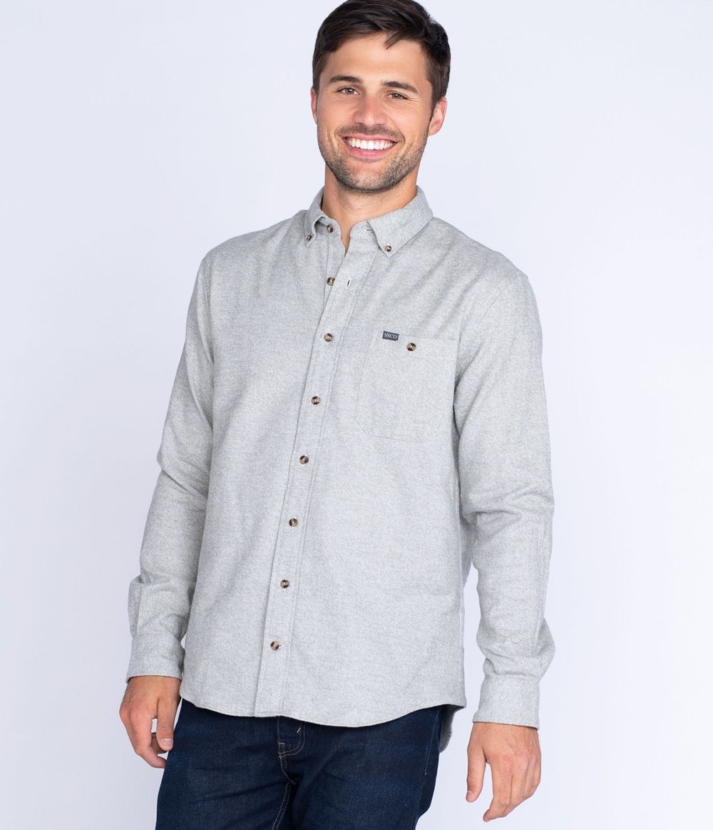 Southern Shirt Oakhill Melange Flannel LS
