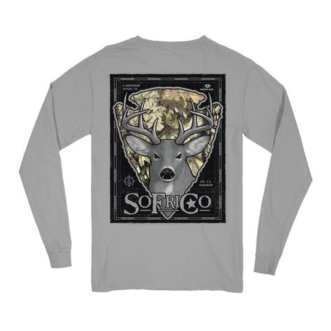 Southern Fried Cotton Backwoods Buck - Long Sleeve