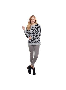 Mud Pie Baye Leopard Sweater