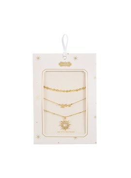 Stardust Layering Necklace Set