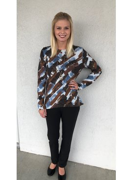 Aryeh Long Sleeve Knit Top