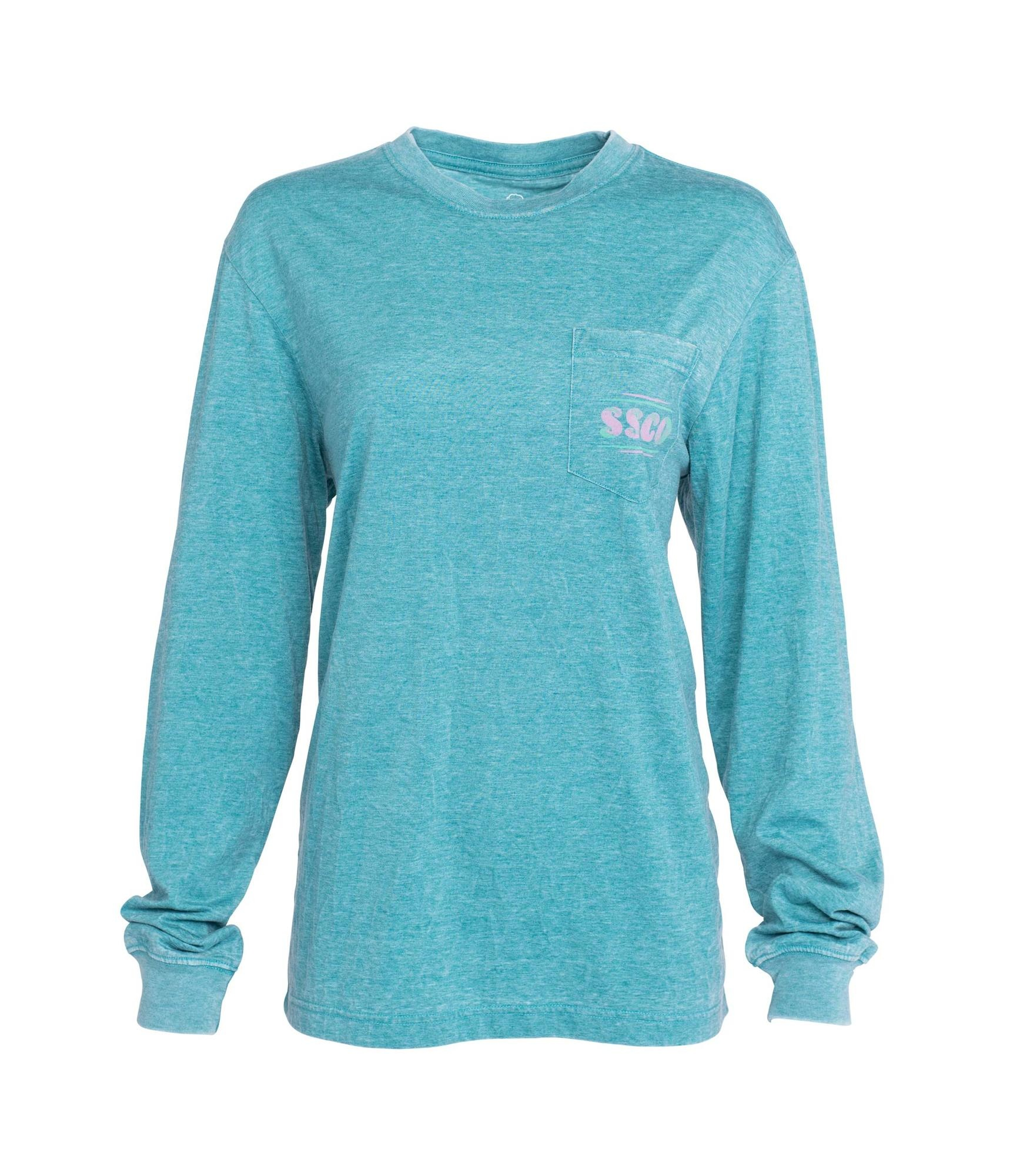 Southern Shirt Watercolor Wilderness Tee LS